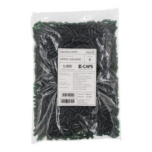 1000 Leerkapseln vegan Hpmc, Größe 0