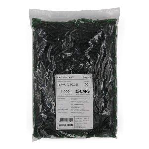 1000 Leerkapseln 00 grün