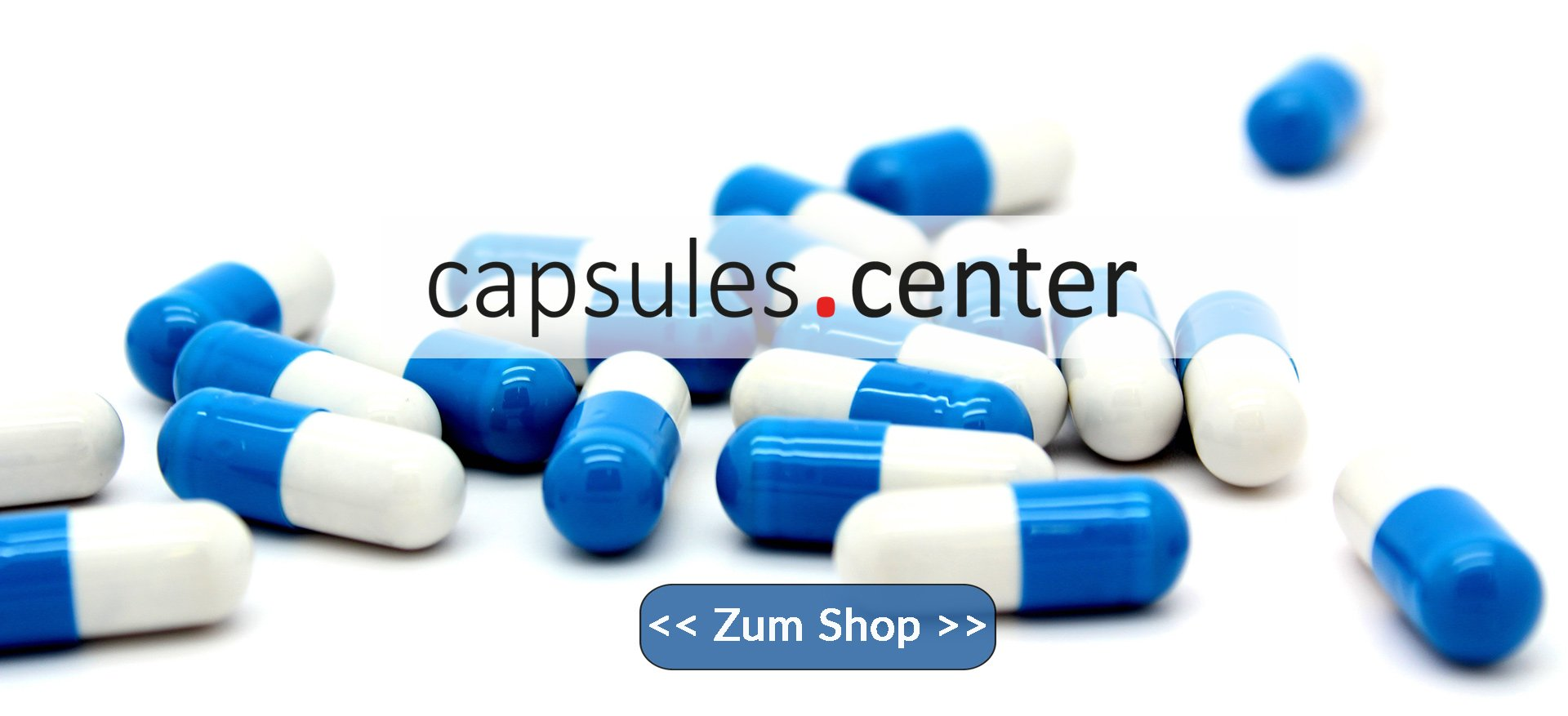 capsules.center - der Leerkapsel Shop